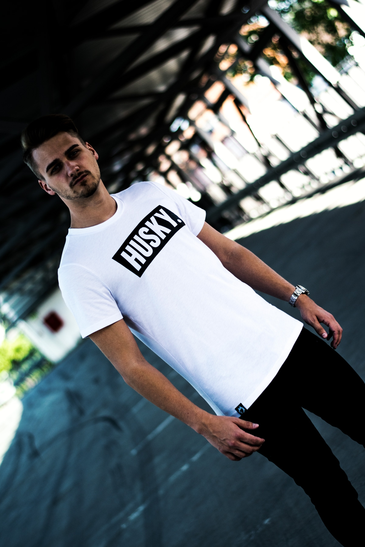 Street Shirt - Arctic White Live Action